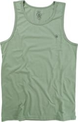 Volcom Solid Heather Tank - dusty green