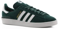 Adidas Campus ADV Skate Shoes - collegiate green/footwear white/gold metallic