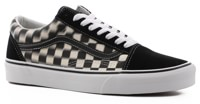 Vans Old Skool Skate Shoes - (blur check) black/classic white