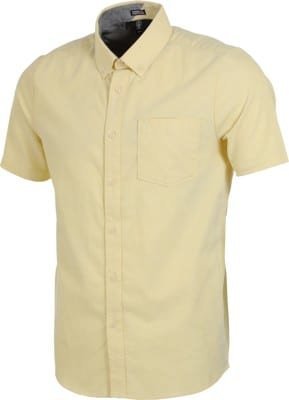 Volcom Everett Oxford S/S Shirt - lime - view large