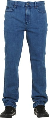 RVCA Daggers Jeans - blue indigo - view large