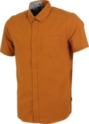 Volcom Everett Oxford S/S Shirt - camel