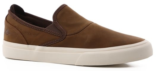 Emerica Wino G6 Slip-On Shoes - brown (dickson) - view large