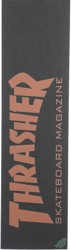 MOB GRIP Thrasher Graphic Skateboard Grip Tape - skate mag orange