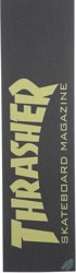 MOB GRIP Thrasher Graphic Skateboard Grip Tape - skate mag yellow