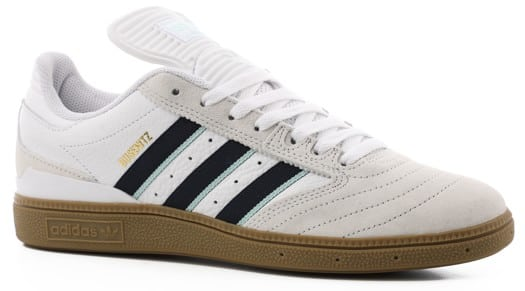 Adidas Busenitz Pro Skate Shoes - footwear white/collegiate burgundy/clear mint - view large