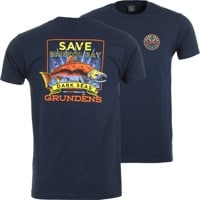 Dark Seas DS X Grundens Save Bristol Bay T-Shirt - navy