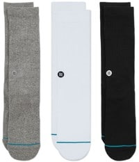 Stance Icon 3-Pack Sock - multi