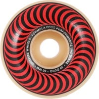 Spitfire Formula Four Classic Skateboard Wheels - white/red classic swirl (99d)