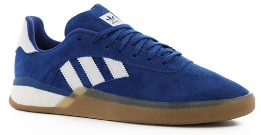 Adidas 3ST.004 Skate Shoes - collegiate royal/footwear white/antique silver - view large