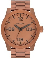 Nixon Corporal SS Watch - matte copper/gunmetal