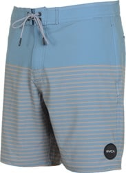 RVCA Curren Boardshorts - blue slate