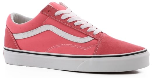Vans Women's Old Skool Shoes - strawberry pink/true white - view large