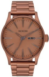 Nixon Sentry SS Watch - matte copper/gunmetal