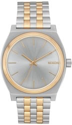 Nixon Time Teller Watch - silver/gold