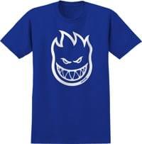 Spitfire Kids Bighead T-Shirt - royal/white