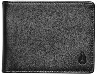 Nixon Cape Leather Wallet - black