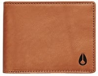 Nixon Cape Leather Wallet - saddle