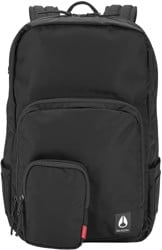Nixon Daily 20L Backpack - all black nylon