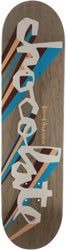 Chocolate Anderson Original Chunk 8.5 Skidul Shape Skateboard Deck - grey