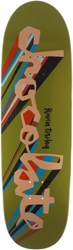 Chocolate Tershy Original Chunk 9.25 Couch Shape Skateboard Deck - olive