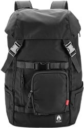 Nixon Landlock 30L Backpack - all black nylon