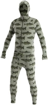 Airblaster Merino Ninja Suit (Closeout) - olive fish - view large