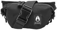 Nixon Trestles Hip Pack - all black nylon