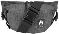 Nixon Trestles Hip Pack - charcoal heather