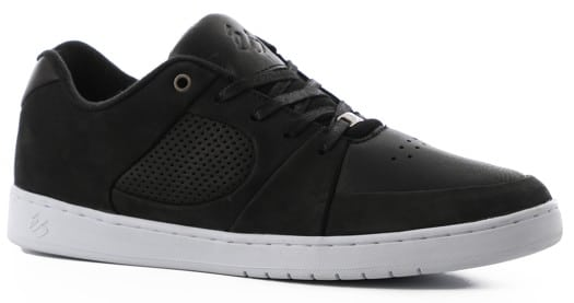 eS Accel Slim Skate Shoes - black/white/white (lux) - view large