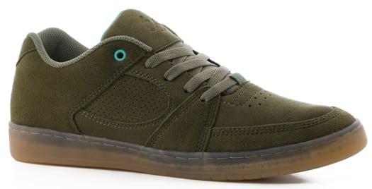 eS Accel Slim Skate Shoes - olive - view large