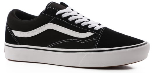 Vans Old Skool ComfyCush Shoes - (classic) black/true white - view large