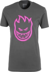 Spitfire Women's Bighead T-Shirt - heavy metal/hot pink
