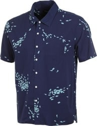Brixton Lovitz S/S Shirt - patriot blue