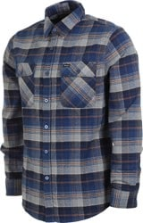 Brixton Bowery Flannel - blue night