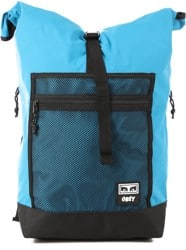 Obey Conditions Roll Top Backpack - pure teal