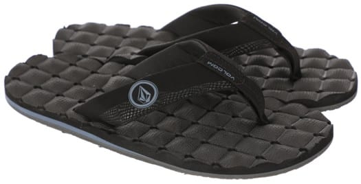 Volcom Recliner Sandals - blue black - view large