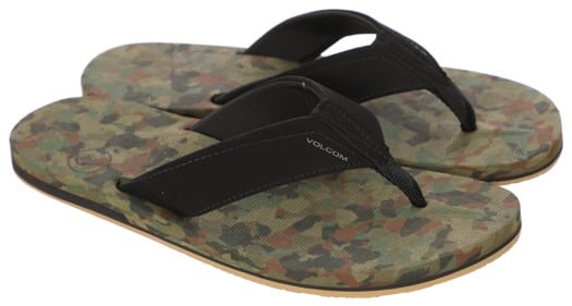 Volcom Victor Sandals - dark camo - view large