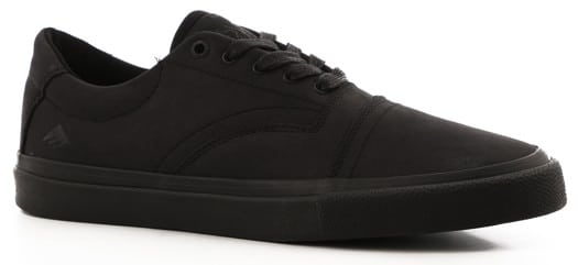 Emerica The Provider G6 Plus Skate Shoes - black/black/black - view large