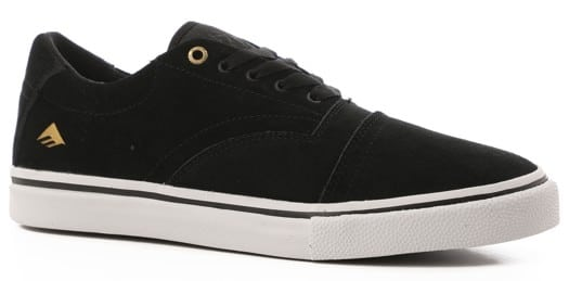 Emerica The Provider G6 Plus Skate Shoes - black/white/gold - view large