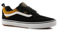 Vans Kyle Walker Pro Skate Shoes - (corduroy) black/yolk yellow
