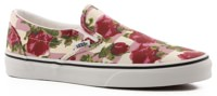 Vans Women's Classic Slip-On Shoes - (romantic floral) multi/true white