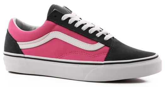 Vans Women's Old Skool Shoes - (2-tone) ebony/carmine rose - view large