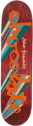 Chocolate Fernandez Original Chunk 8.25 Skateboard Deck - red