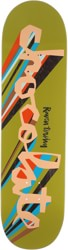 Chocolate Tershy Original Chunk 8.5 Skateboard Deck - olive