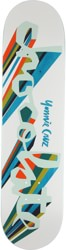 Chocolate Yonnie Original Chunk 8.125 Skateboard Deck - white