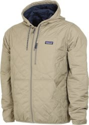 Patagonia Diamond Quilt Bomber Hoody Jacket - shale