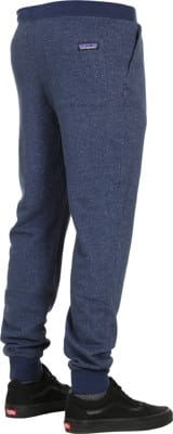 Patagonia Mahnya Fleece Sweatpants - navy blue - view large