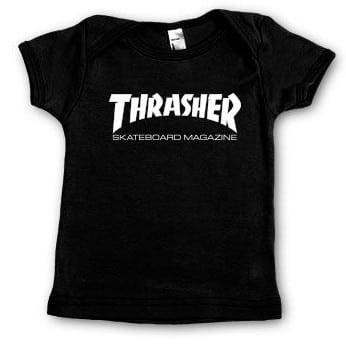 Thrasher Infants Skate Mag T-Shirt - black - view large