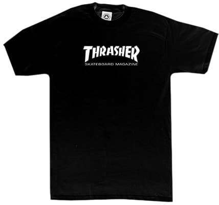 Thrasher Toddlers Skate Mag T-Shirt - black - view large